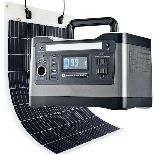 SunBoxLabs 500w solar generator kit
